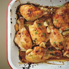 Baked Kitchen Cupboard Chicken