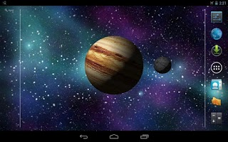 Screenshot of 3D Earth Wallpaper