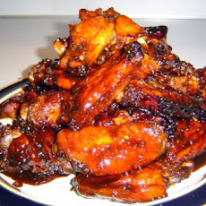 Sticky Soy Wings