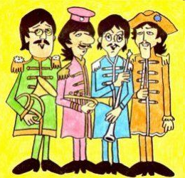 The Beatles - dibujos, pinturas, retratos etc