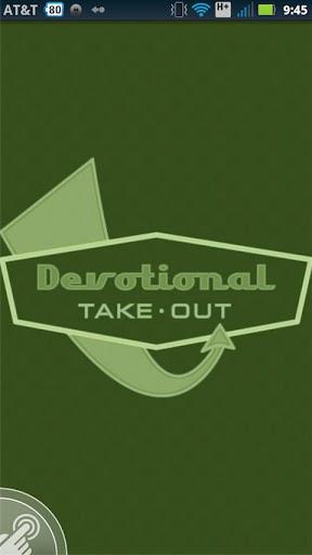 Devotional Take Out
