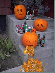 drinking pumpkins
