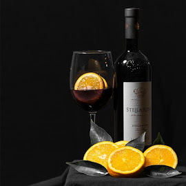 Wine and oranges by Victor Martinez - Food & Drink Alcohol & Drinks (  )
