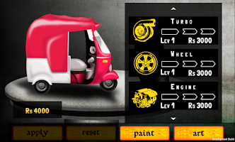 Screenshot of Warid Rickshaw Racing