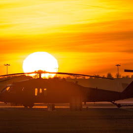 Apocalipse Now by Nigel Conniford - Transportation Helicopters ( helicopter, sigma, sunset, nikon, pavehawk )