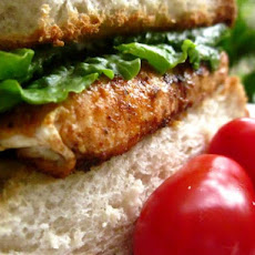 Blackened Salmon Poor Boy Sandwiches