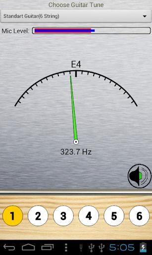 Full Guitar Tuner - screenshot