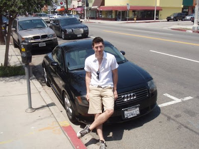 Joel with an Audi TT