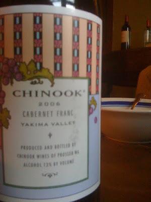 Chinook Cabernet Franc