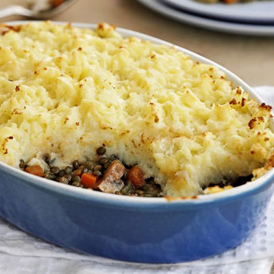 Golden Veggie Shepherd's Pie