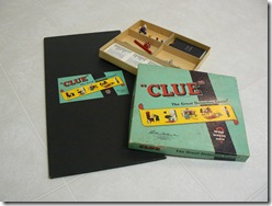 CAHILL, Julie Marie CAHILL Clue Board Game