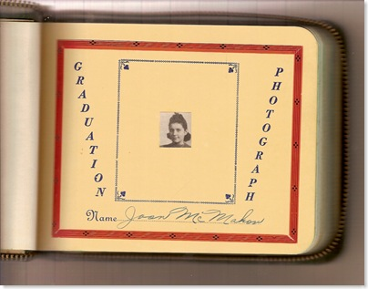 McMAHON, Joan Garrison McMAHON School Autograph Book 02