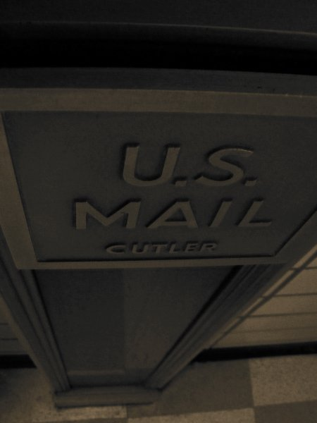 mail chute photo