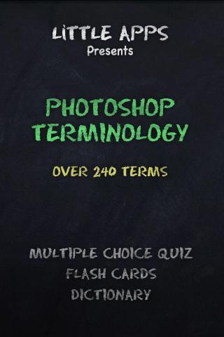 240+ PHOTOSHOP TERMS QUIZ