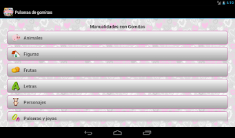 Screenshot of Pulseras de Gomitas