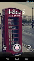 Screenshot of London GO Locker Theme