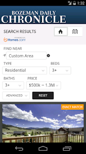 Bozeman Homes - screenshot