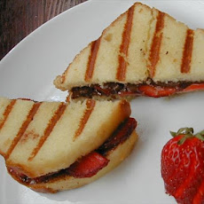 Chocolate-Strawberry Panini