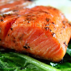Pan Seared Herbed Salmon