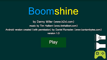 Screenshot of Boomshine