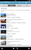 Screenshot of San Francisco Travel Guide