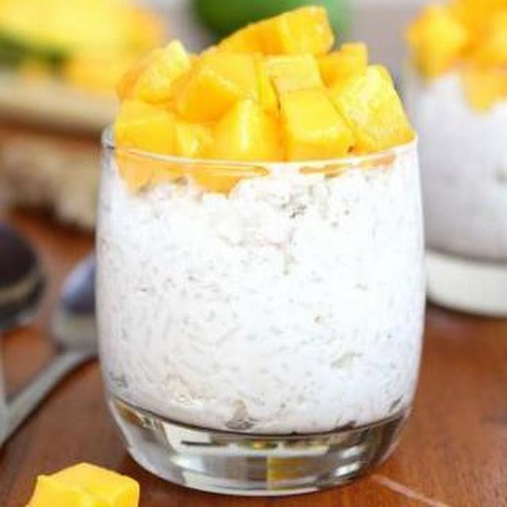 Vegan Ginger Coconut Rice Pudding