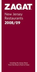 Zagat New Jersey Restaurant Guide 2008-2009 at Amazon.com