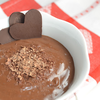 Smooth Velvety Dark Chocolate Pudding