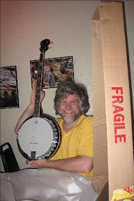 A banjo!