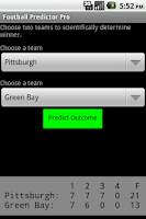 Screenshot of Football Predictor Pro