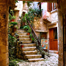 Tuscan Staircase by Patrick Graziose - Buildings & Architecture Other Exteriors