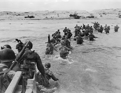 US troops at Utah Beach