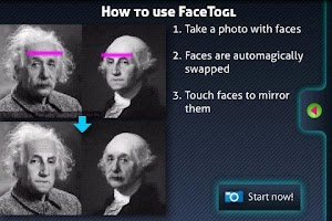 Screenshot of FaceTogl Free