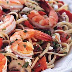 Linguine with Shrimp and Plum Tomatoes