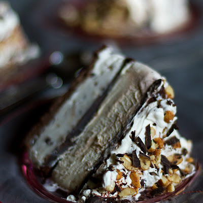 Tin Roof Ice Cream Cake