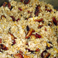 Pecan Rice Stuffing With Scallions