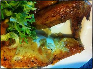 Oven roasted lemon chicken