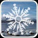 Snowing Snowflakes Wallpaper