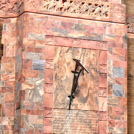 sundial by Holly Herrmann - Buildings & Architecture Architectural Detail ( bok tower garden )
