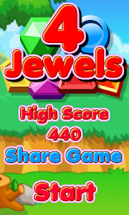 4 Jewels - screenshot