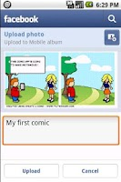 Screenshot of Comic & Meme Creator