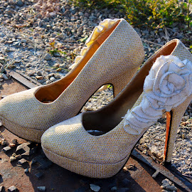 Heels For the Bride by Alan Chew - Artistic Objects Clothing & Accessories