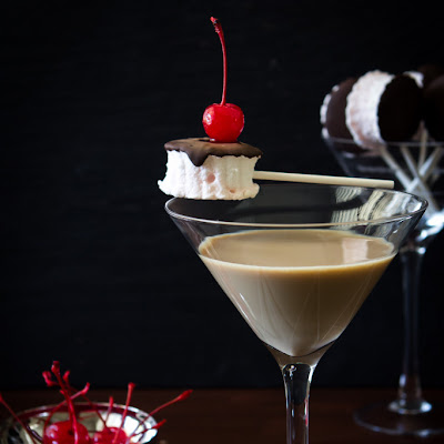 Chocolate Covered Cherry Martini