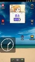 Screenshot of ComiPo! Battery Meter [Widget]