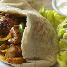 Chicken Pittas
