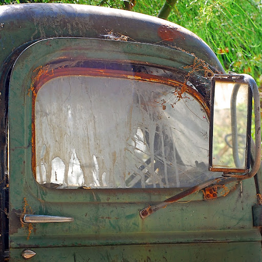 Rusting Old Pick-up Truck