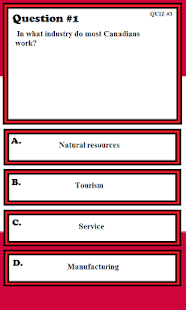 Canadian Citizenship Test 2015 - screenshot