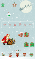 Screenshot of Christmas Gift Dodol Theme