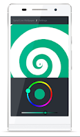 Screenshot of Spiral Live Wallpaper FREE