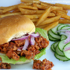 Barbeque Chicken Sloppy Joe Sandwiches